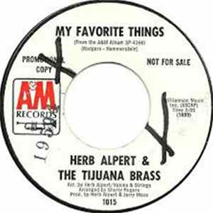 Herb Alpert & The Tijuana Brass - My Favorite Things Album