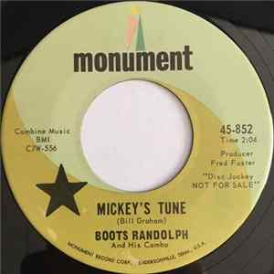 Boots Randolph - Mickey's Tune / I'll Take You Home Again Kathleen Album