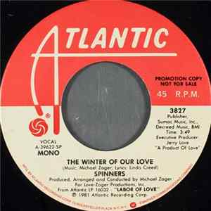 Spinners - The Winter Of Our Love Album